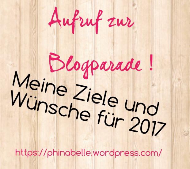 """Blogparade """"Ziele undWünsche"""""""